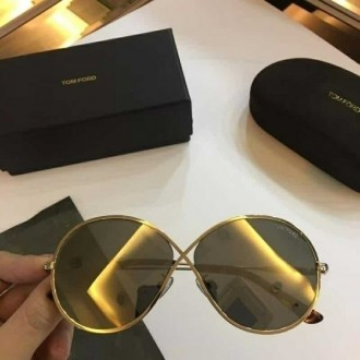 Mens Womens Tom Ford Sunglasses TF0564 Gold Brown