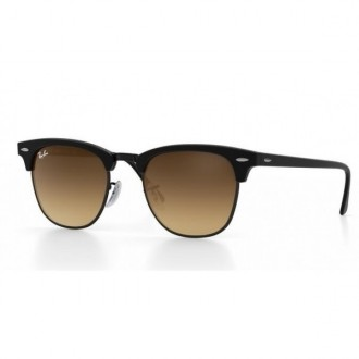 Ray Ban Sunglasses CLUBMASTER REMIX Black Frame Brown Lens