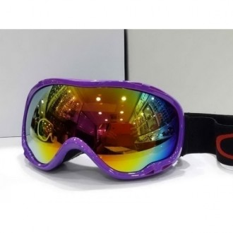 Oakley Goggle A Frame Purple Frame Fire Yellow Lens