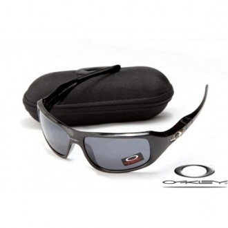 Discount Oakley c six sunglasses Polished Black / Gray for sale