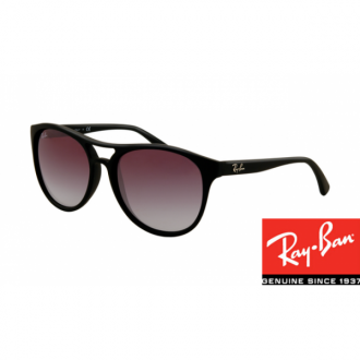 Ray Ban RB4170 Sunglasses Black Frame Wine Red Gradient Lens