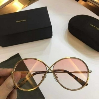 Mens Womens Tom Ford Sunglasses TF0564 Gold Pink