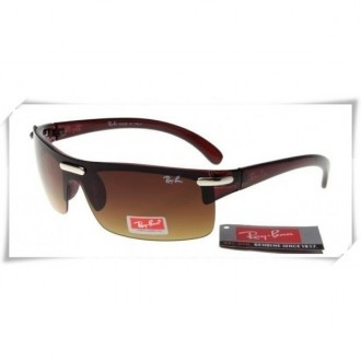 Ray Ban RB1065 Sunglasses Brown Frame Brown Gradient Lens
