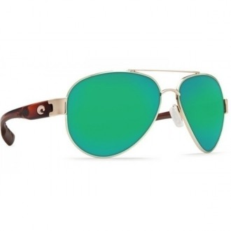 Costa Point Rose Gold With Light Tortoise Temples Sunglasses
