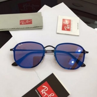 Men's Women's Ray Ban RB3579 Fashion Sunglasses In Blue
