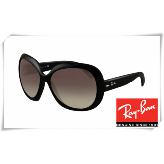 Ray Ban RB4098 Jakie Ohh II Sunglasses Black Frame Grey Gradient Lens