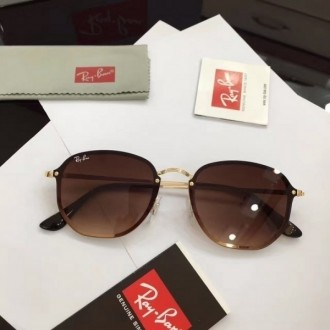 Men's Women's Ray Ban RB3579 Fashion Sunglasses In Brown