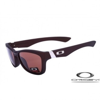 Knockoff Oakley jupiter sunglasses with chocolate frame Brown Red Lens