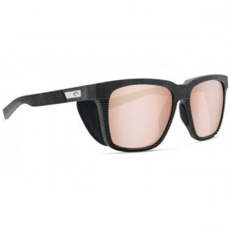 Costa Pescador With Side Shield Net Gray With Gray Rubber Sunglasses