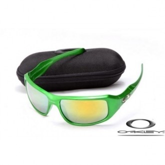 Knockoff Oakley c six sunglasses Green Frame Fire Lenses for cheap
